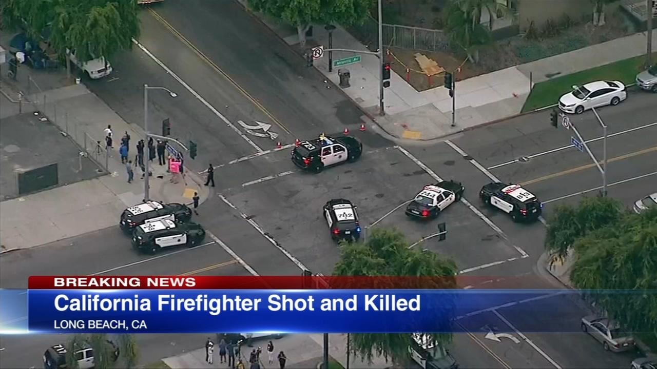Long Beach, Calif. firefighter shot and killed