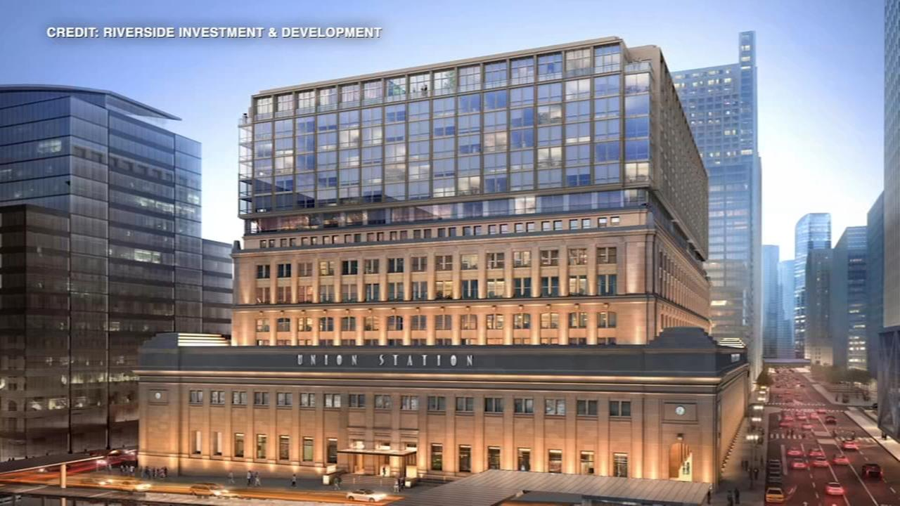 Renderings of proposed Union Station addition released