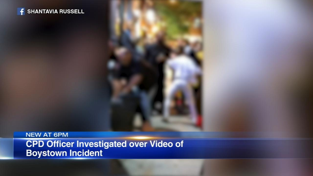 Officer investigated over video of Boystown incident