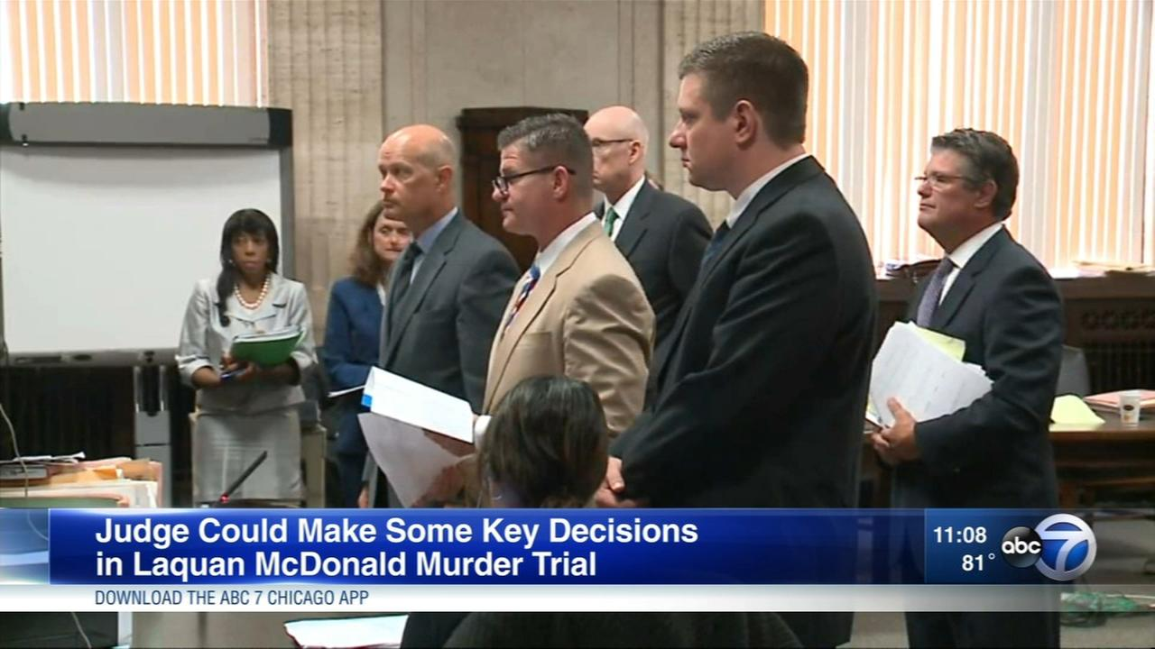 Judge could make key decisions in Laquan McDonald murder trial Thursday