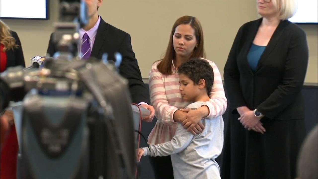 9-year-old Brazilian boy reunited with mom seeking asylum after US judge orders his immediate release