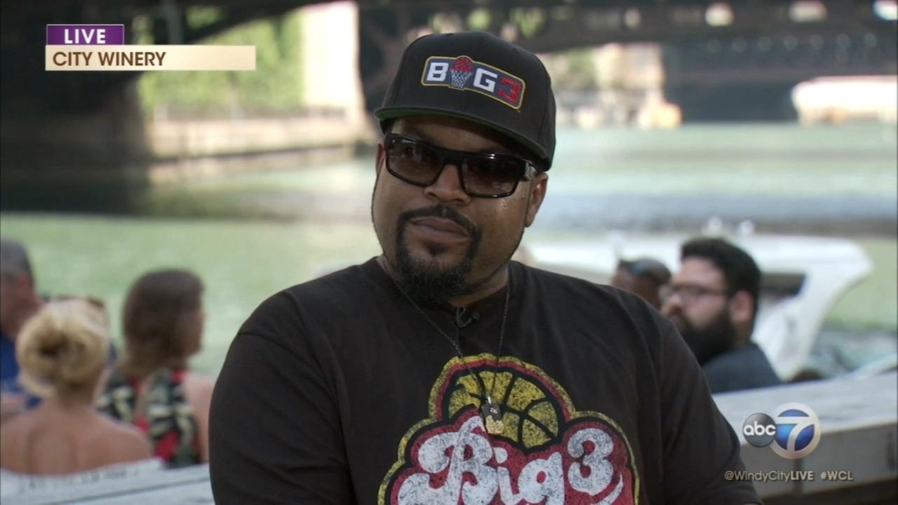 Ice Cube talks The Big3