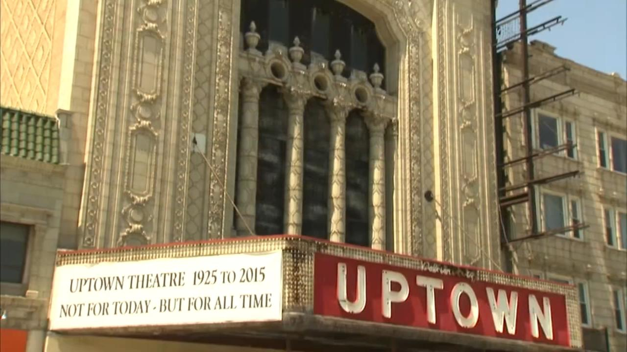 Historic Uptown Theatre to be restored with $75 million renovation