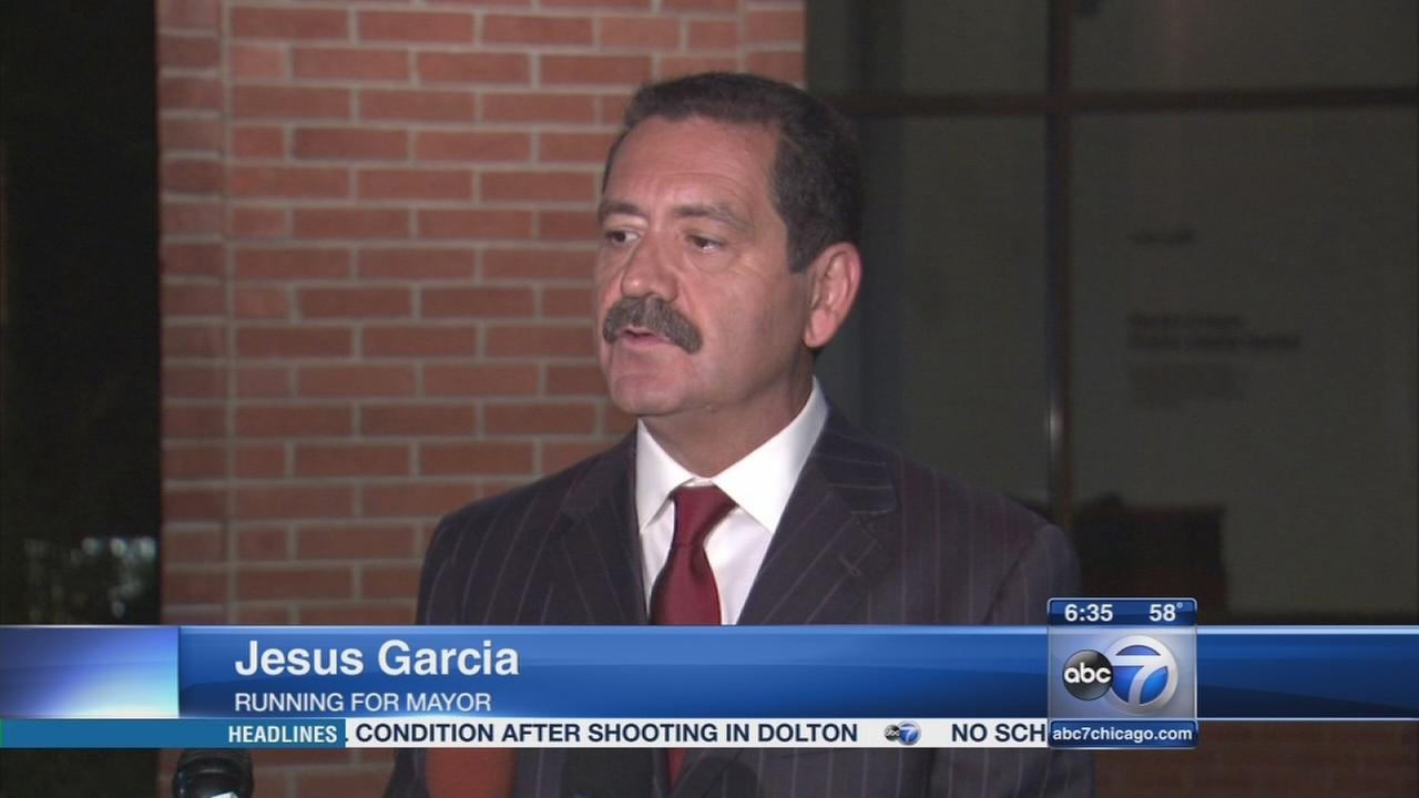 Cook County Commissioner Jesus Garcia to join race for Chicago mayor