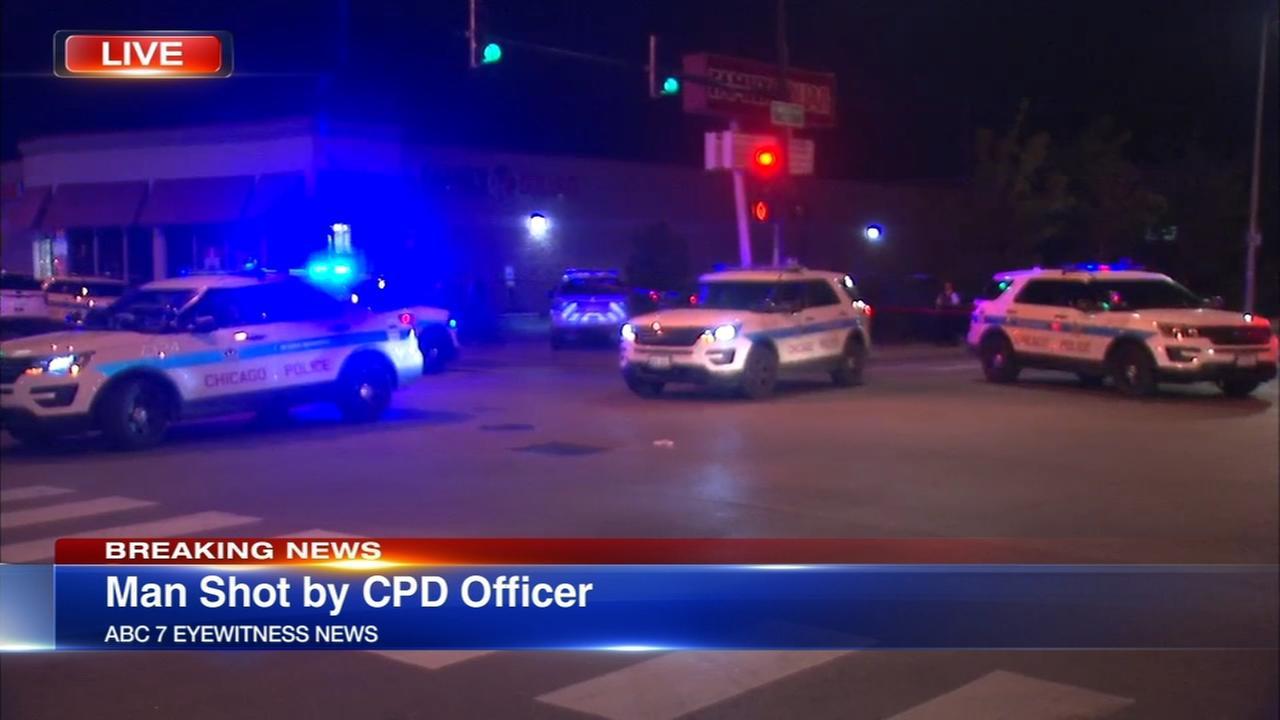 Officer shoots man in South Shore, CPD spokesman confirms