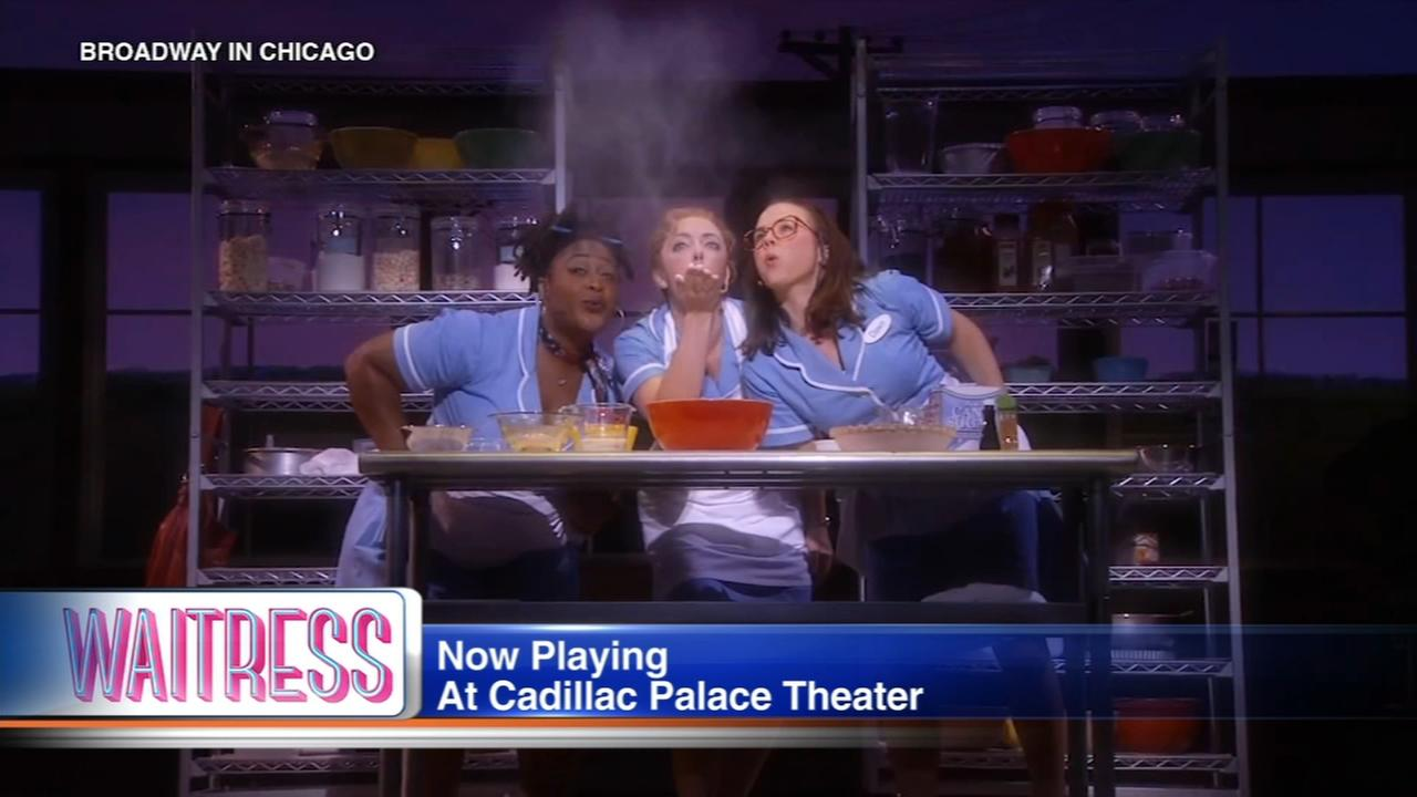 'Waitress' musical playing at Cadillac Palace Theatre through July 22