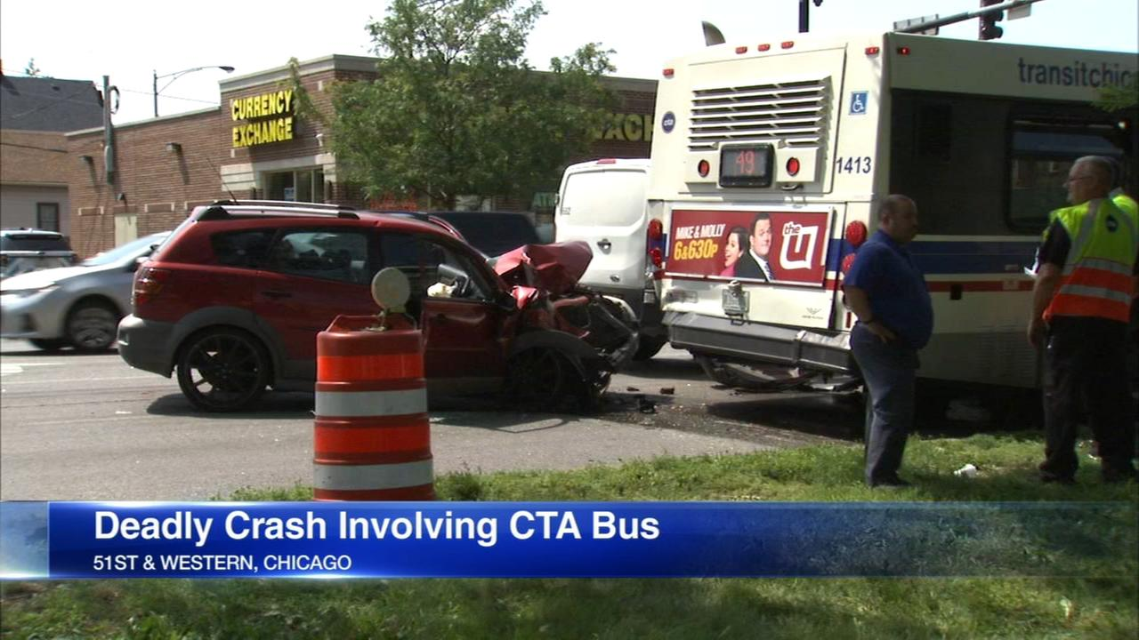 Crash on Western Ave. kills 1, injures 6