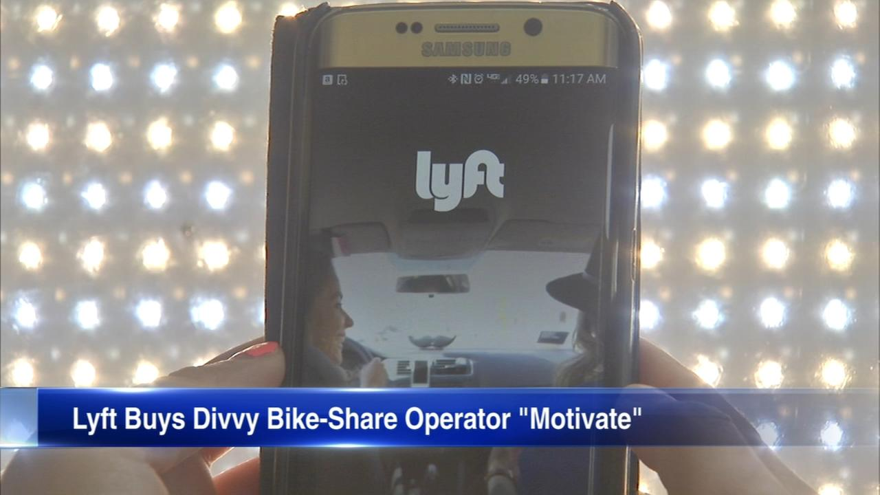 Lyft purchases Divvys parent company