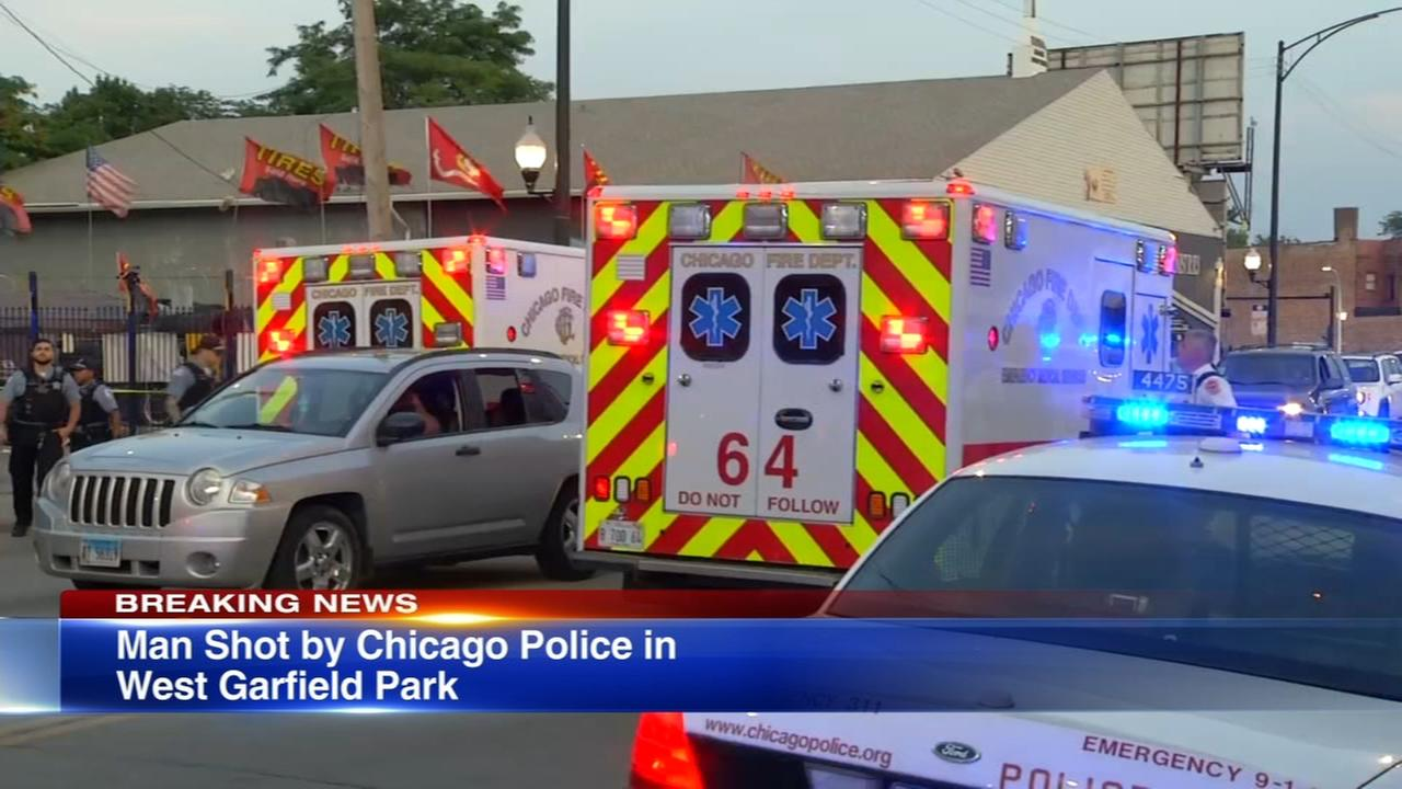 Police: Officers shoot armed man after confrontation in West Garfield Park