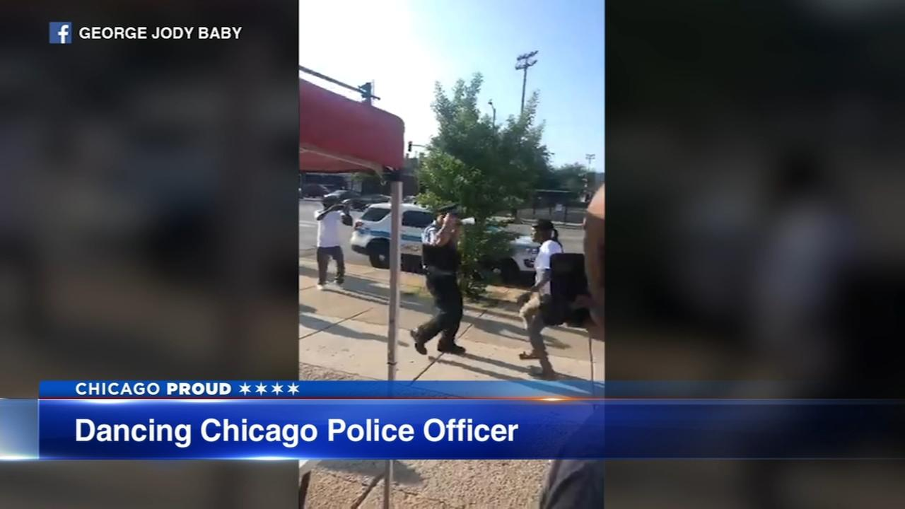 Chicago Proud: Dancing cop