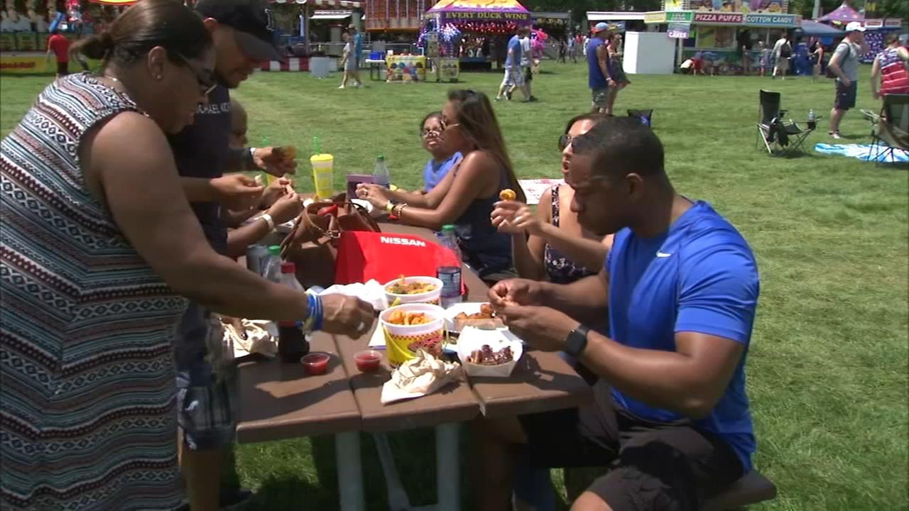 Naperville Ribfest gets underway Wednesday