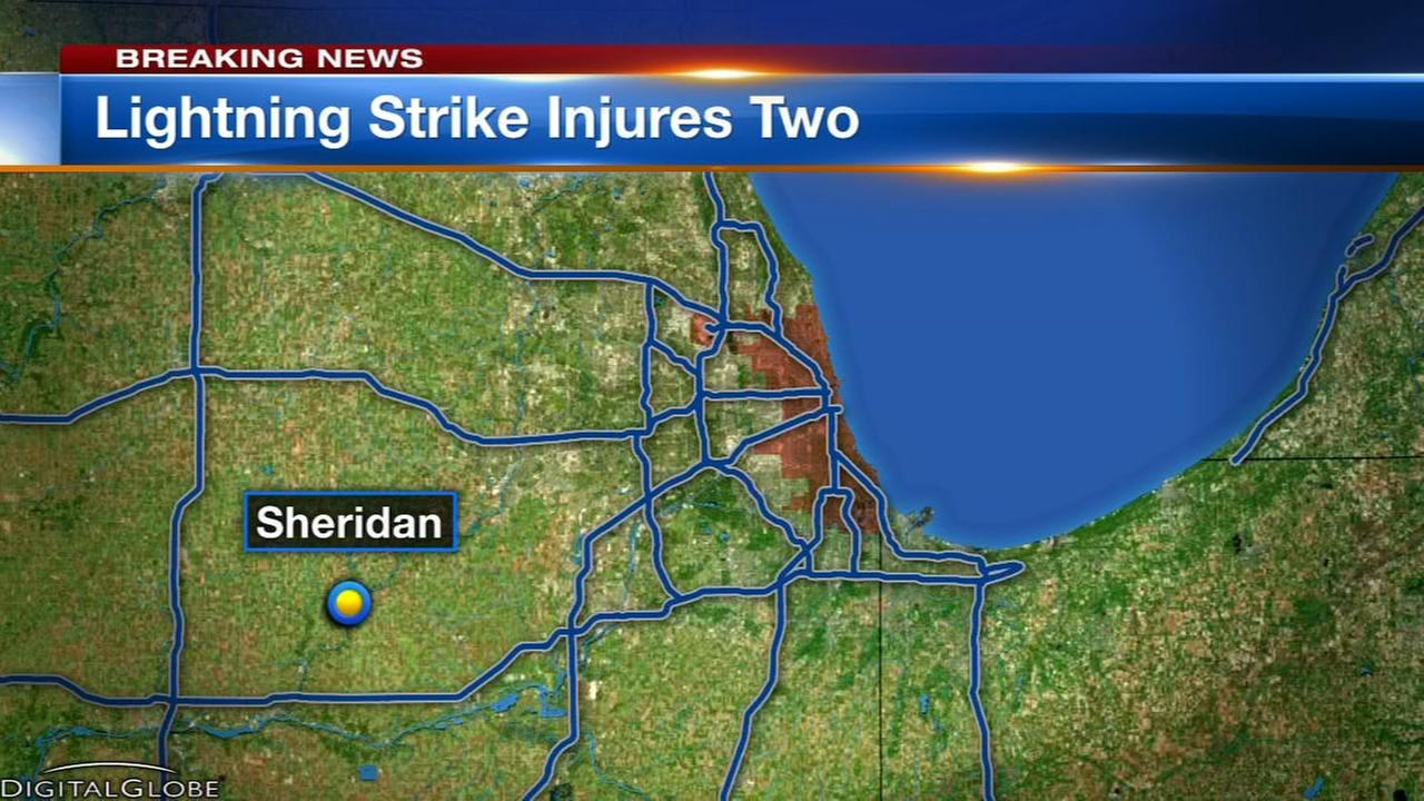 2 injured in lightning strike in LaSalle County