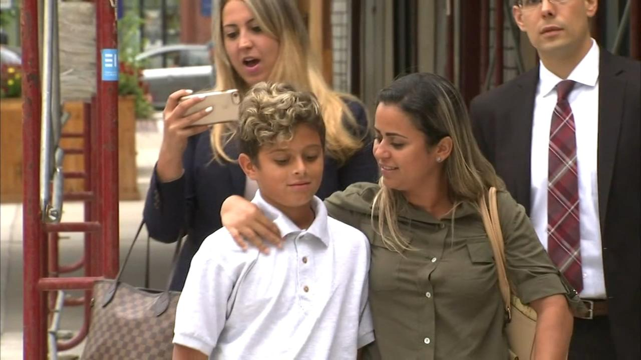 Mother and son separated by immigration policy reunited