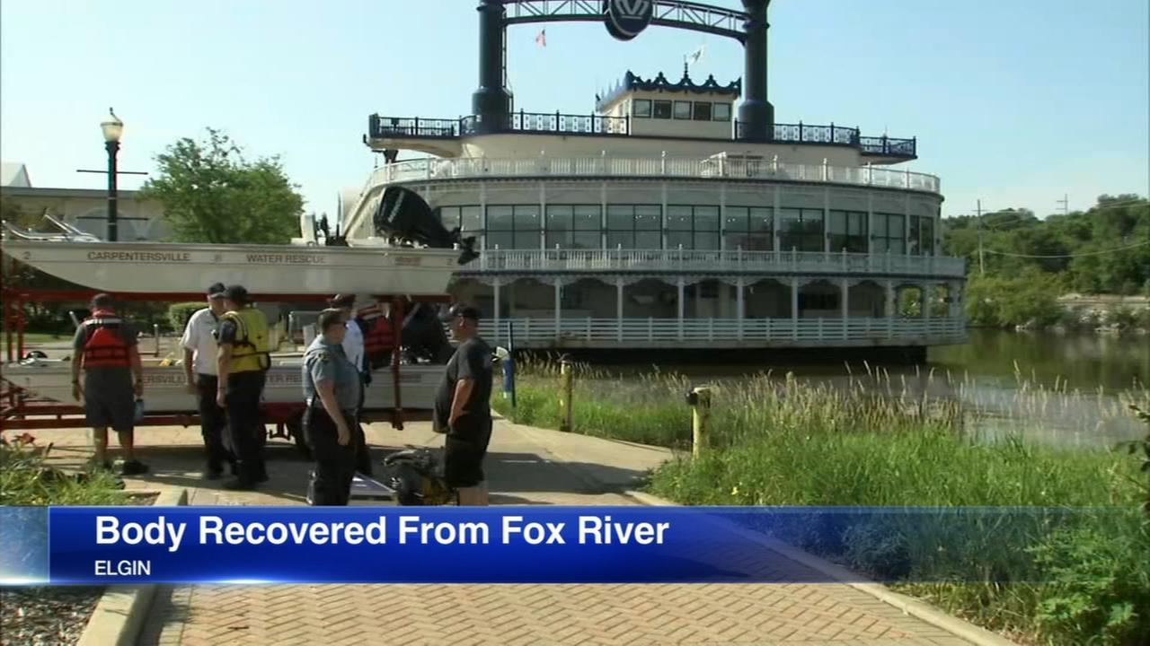 Body pulled from Fox River in Elgin