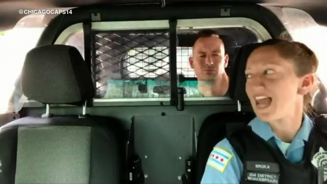 VIDEO: Chicago cops take on Queen in lip sync challenge