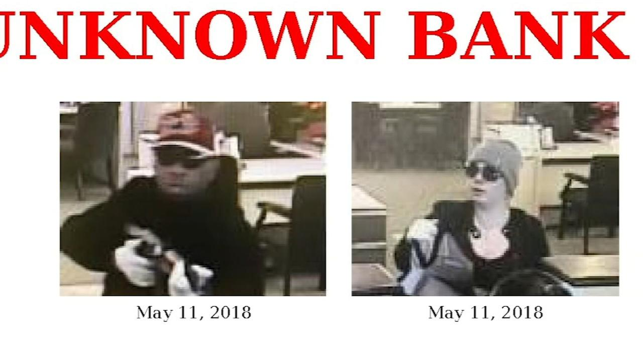 Authorities: Bartlett pair charged in bank robbery spree used stolen AK-47
