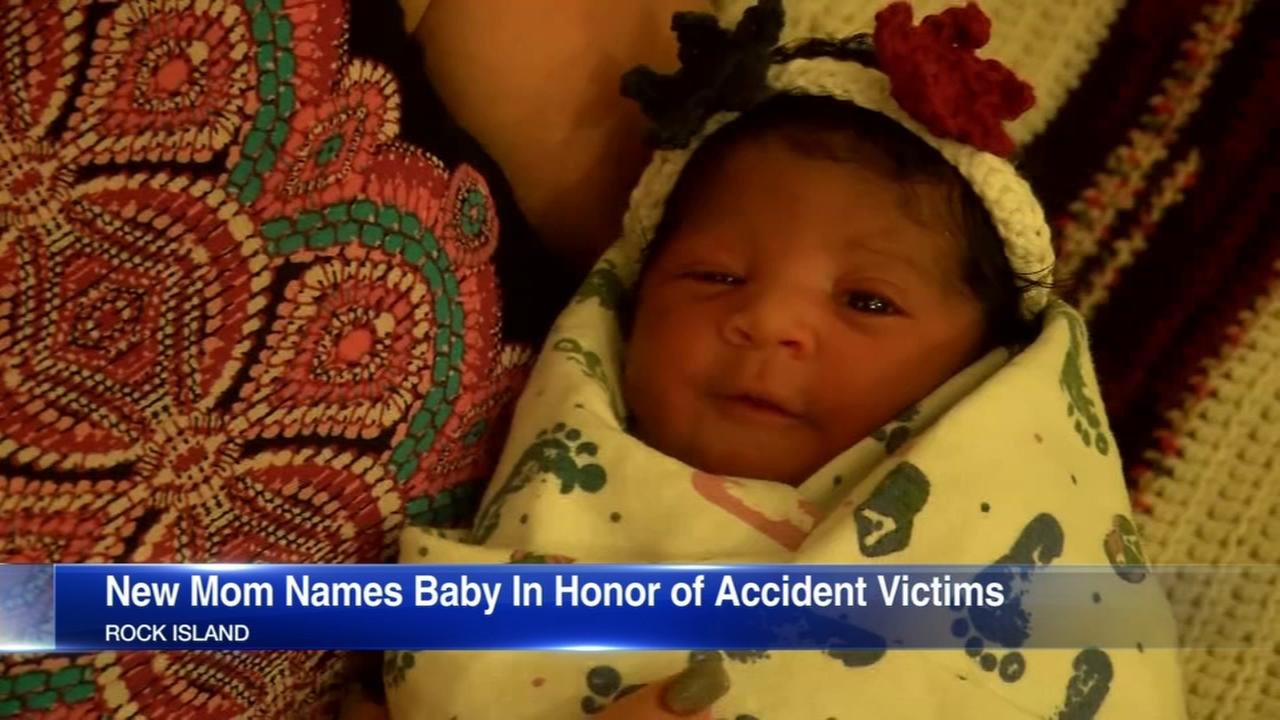 Woman names baby for 2 killed after tree branch falls in Rock Island