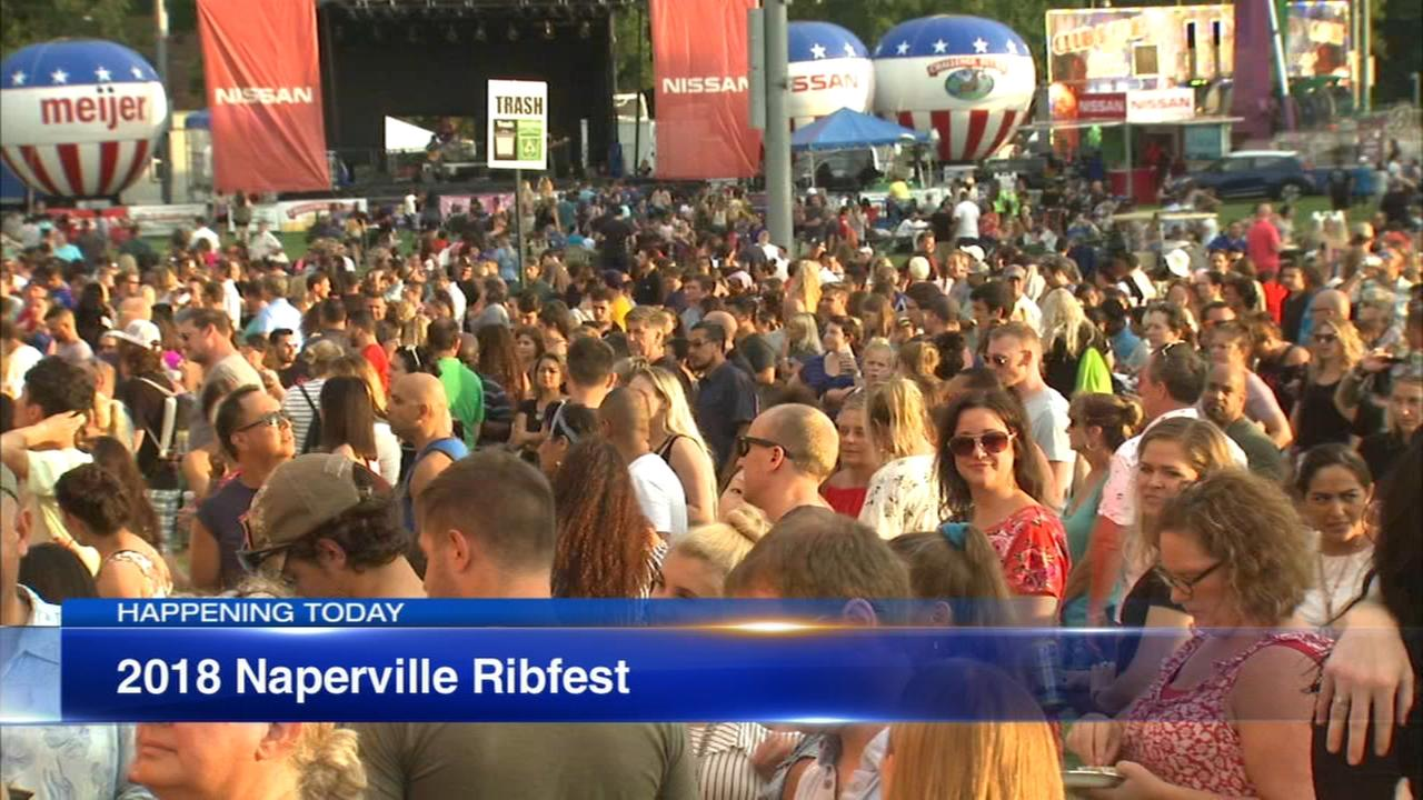 Saturday is final day for Napervilles Ribfest