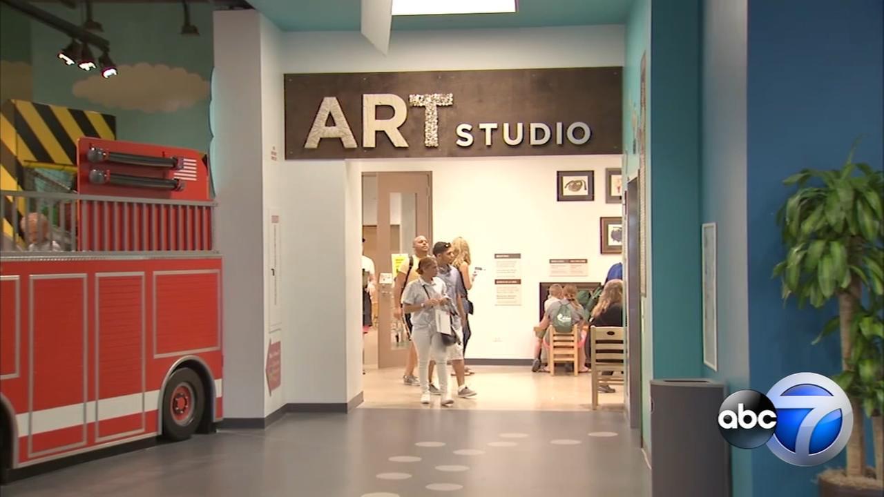 Chicago Childrens Museum opens art studio