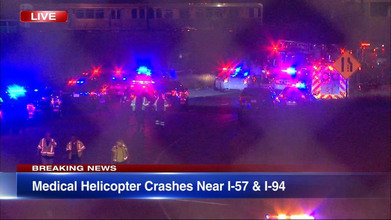 Helicopter crashes on Chicagos Far South Side