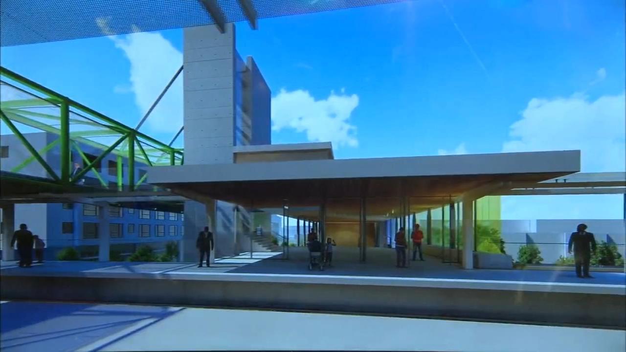 Design unveiled for new CTA Damen Green Line Station