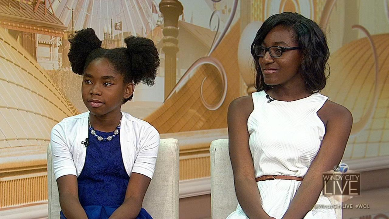 Two Chicago area girls win national writing contest