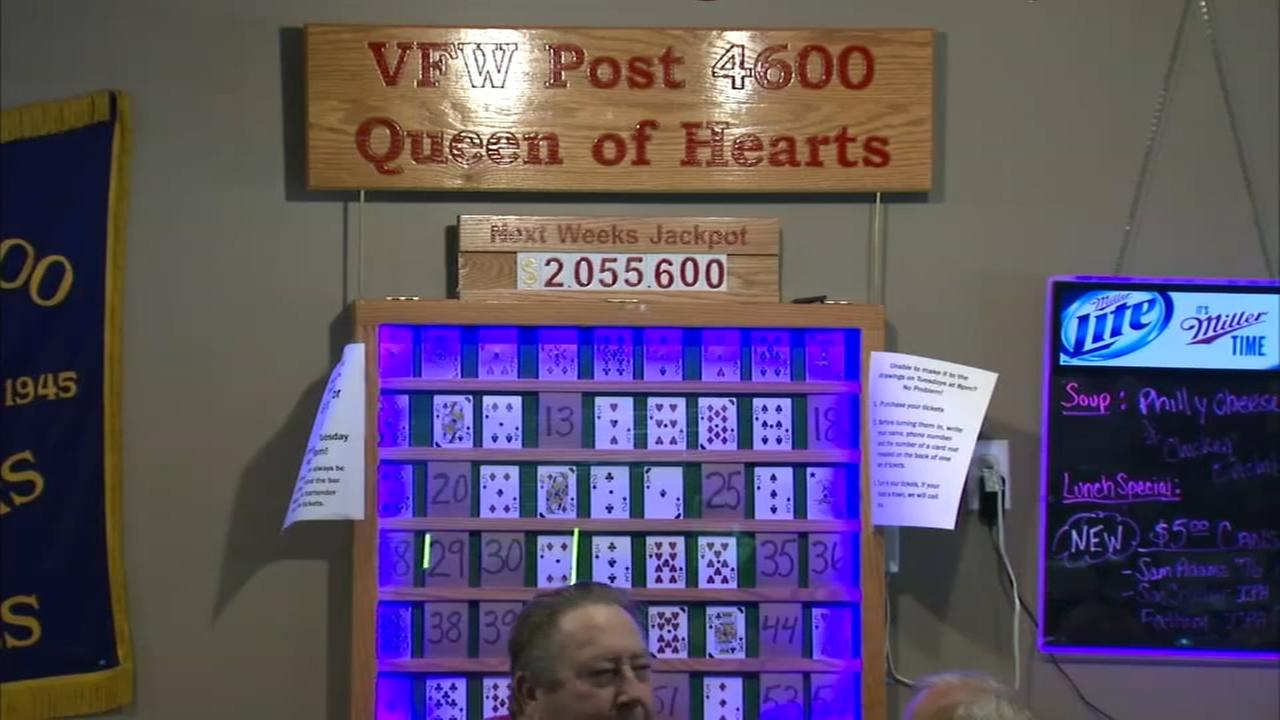 McHenry VFW to hold $2M Queen of Hearts drawing