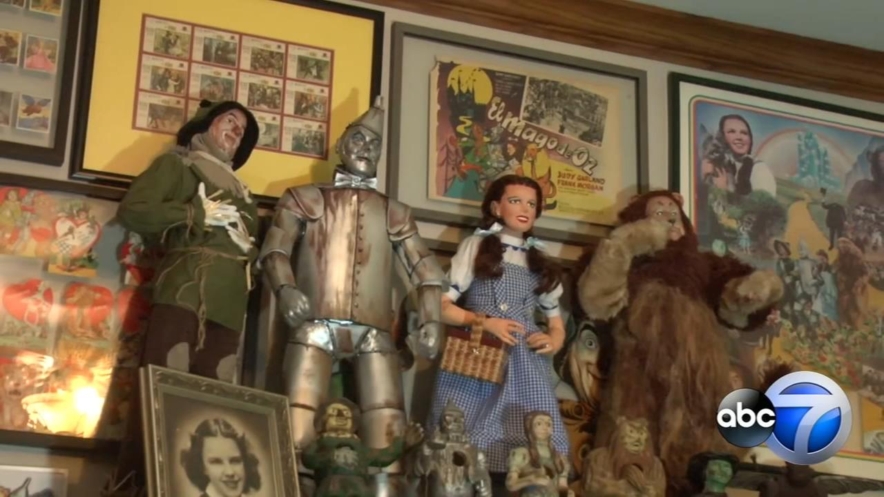 Homer Glen man collects $1 million of Wizard of Oz memorabilia