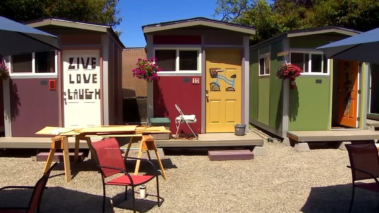 See inside Seattles new tiny house village for homeless women