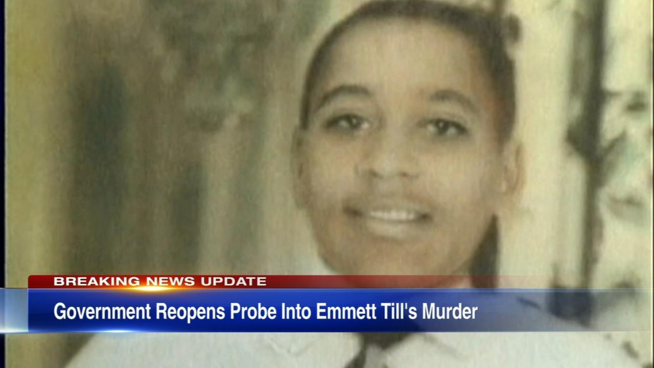 Emmett Till murder investigation re-opened