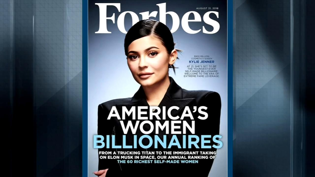 Forbes: Kylie Jenner set to be youngest self-made billionaire; backlash ensues