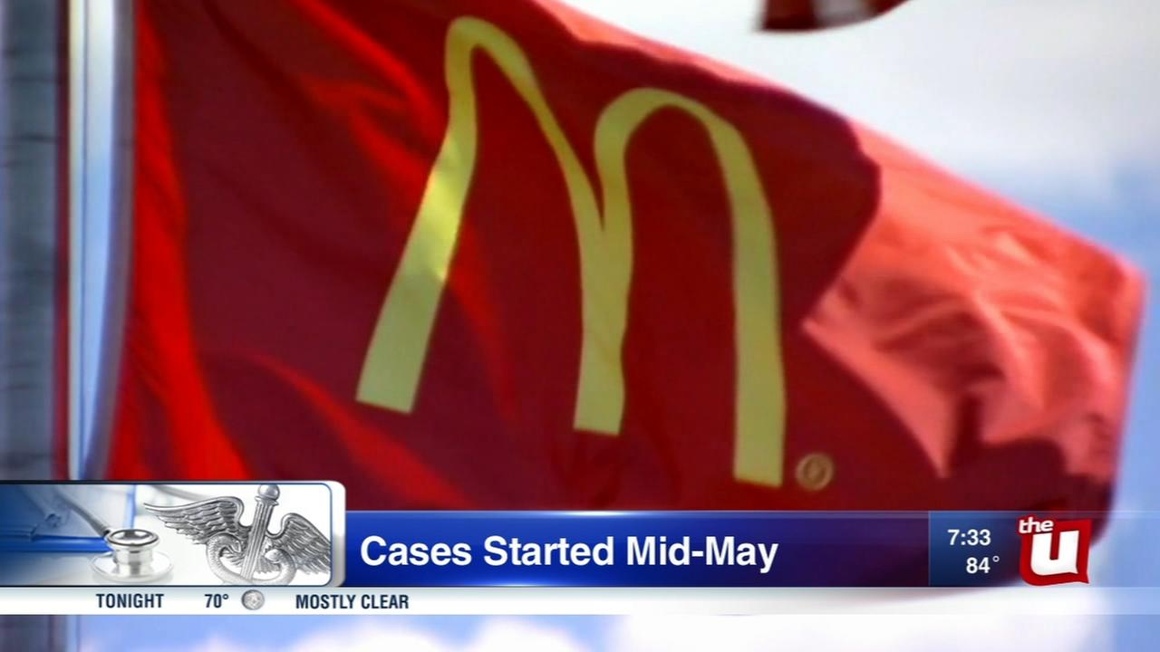 Food borne illness linked to McDonalds salads