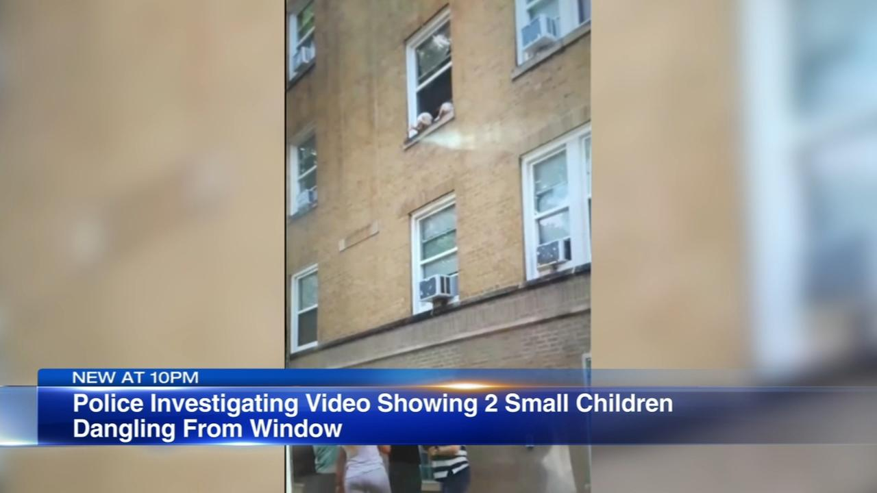 Police: Bystanders rescue toddlers hanging out of window in Hermosa