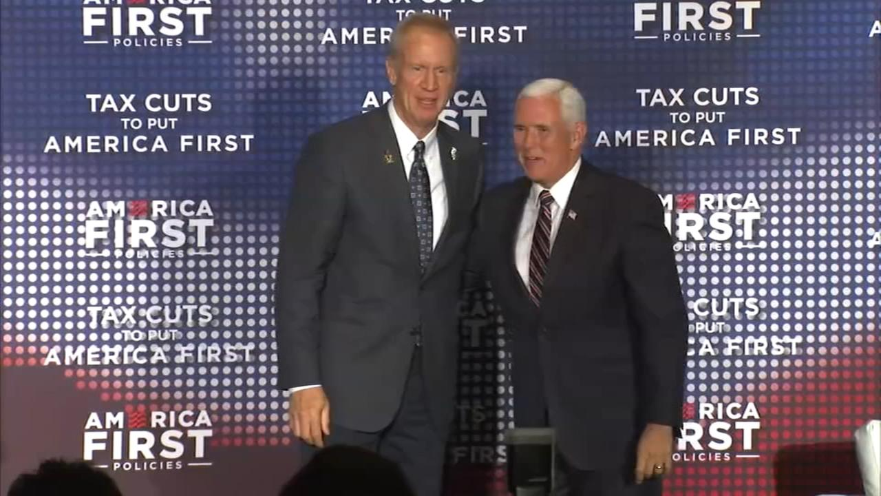 VP Pence speaks on tax reform in Rosemont