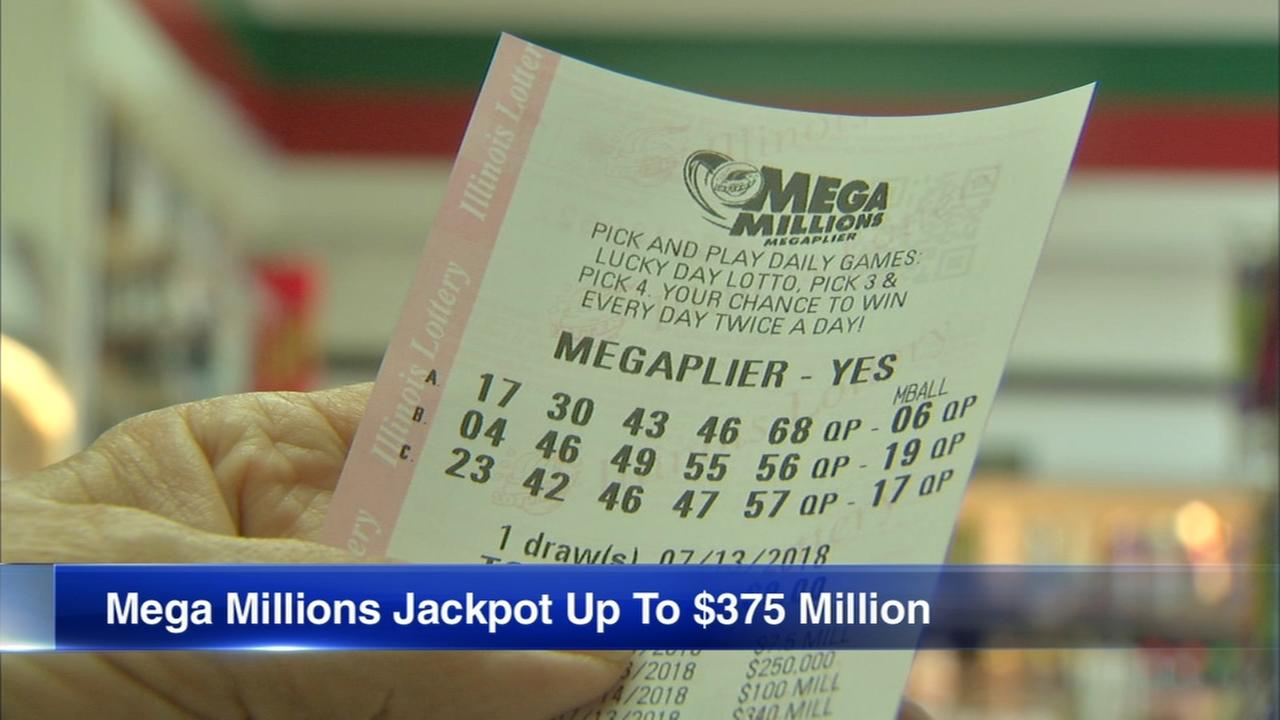 Mega Millions jackpot up to $375 million