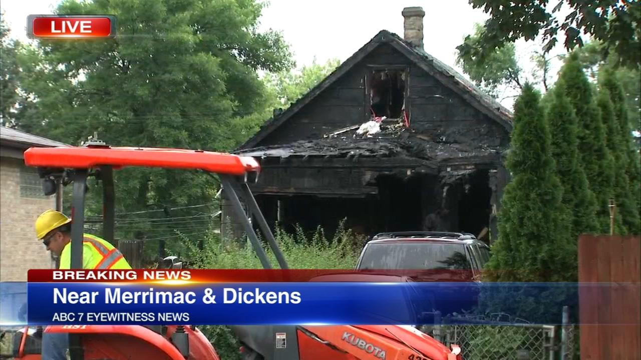 Woman killed, man injured in Galewood fire