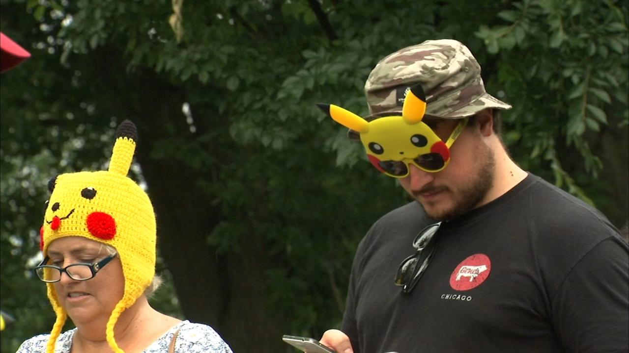 Pokemon Go Fest held on Chicago's North Side