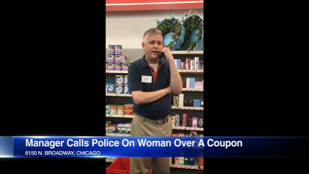 CVS apologies after manager calls police on black woman over coupon