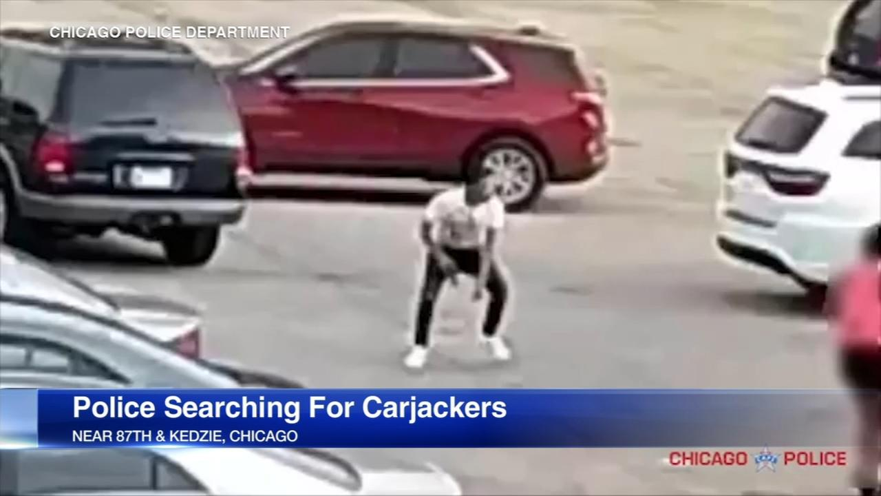 Video released of Ashburn carjacking suspects