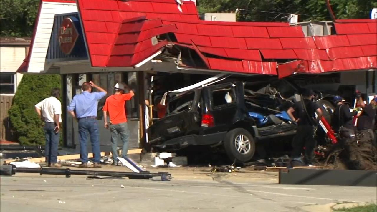 Car slams into Homewood Dairy Queen, owners plan to rebuild
