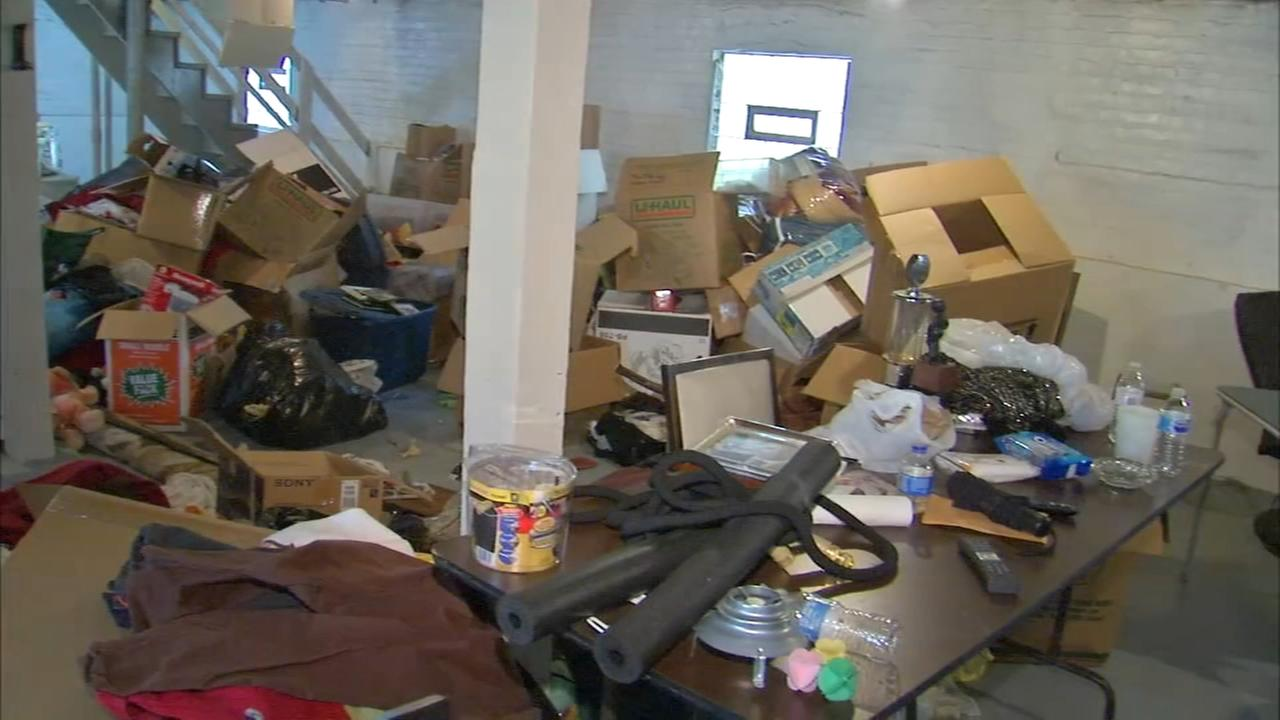 Chicago womans home damaged in raid looking for man she doesnt know