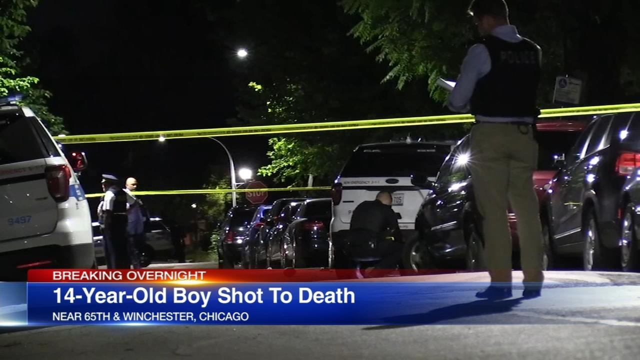 Boy, 14, shot to death in West Englewood drive-by