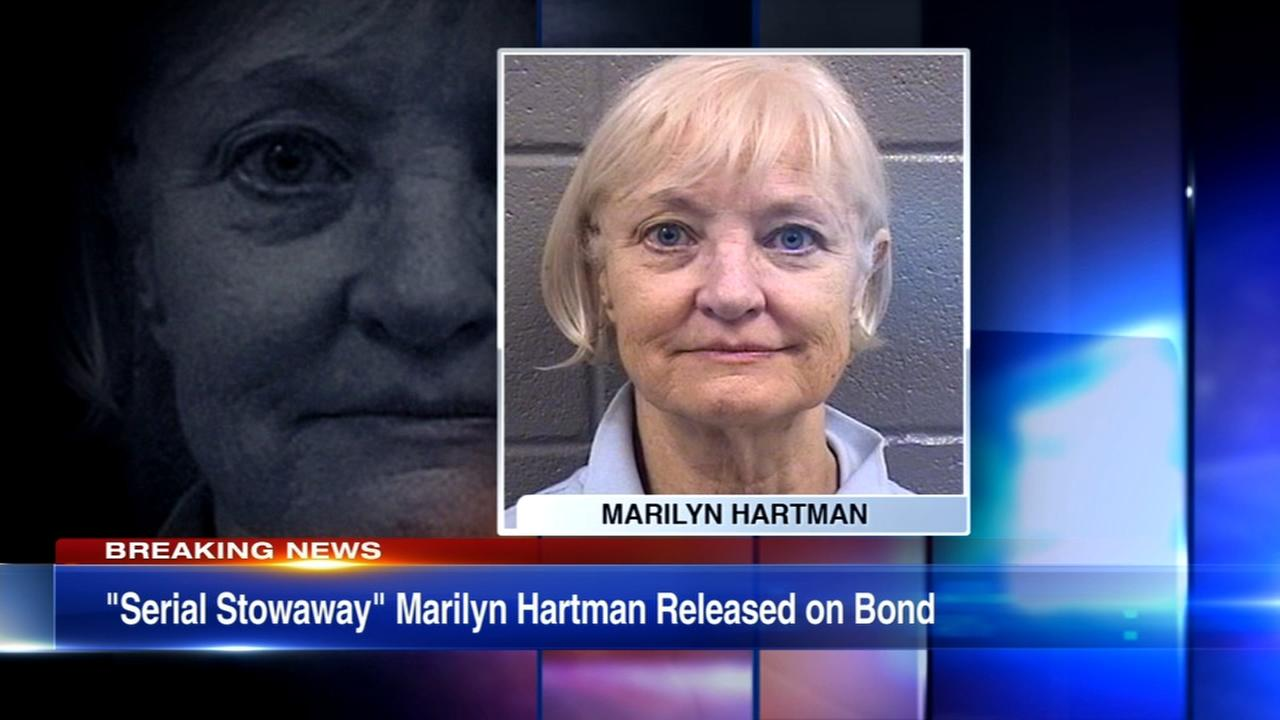 Serial stowaway Marilyn Hartman found fit to stand trial