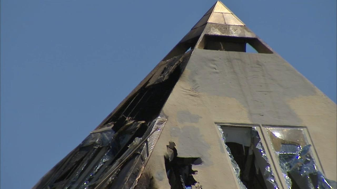 Owners of Gold Pyramid House in Wadsworth hope to rebuild after fire