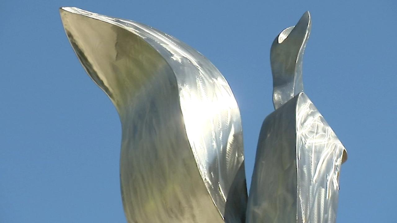 New Chicago sculpture honors Special Olympics 50th anniversary