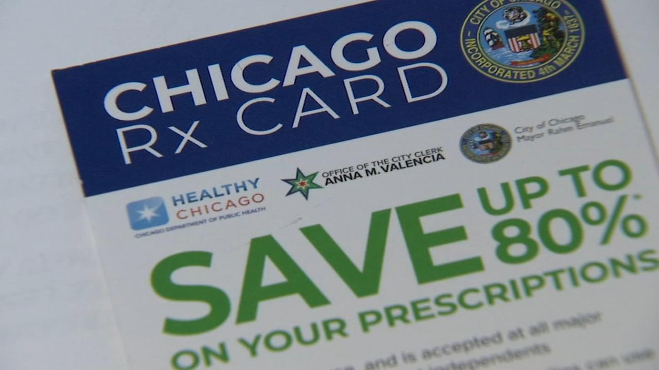 Chicago RX Card to give residents discounts on prescriptions
