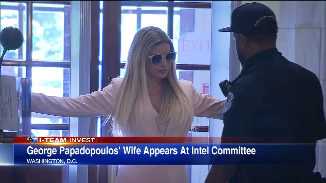 Wife of former Trump campaign advisor testifies in D.C.