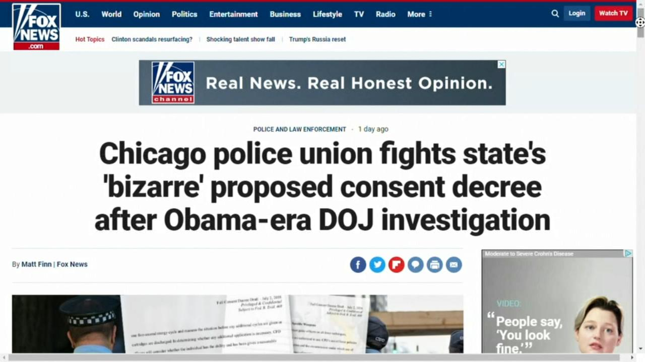 Possible draft of CPD consent decree leaked