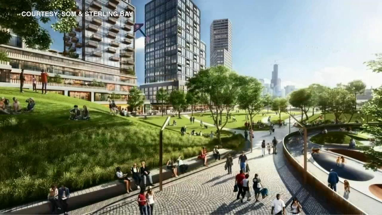 Details of massive development along Chicago River released