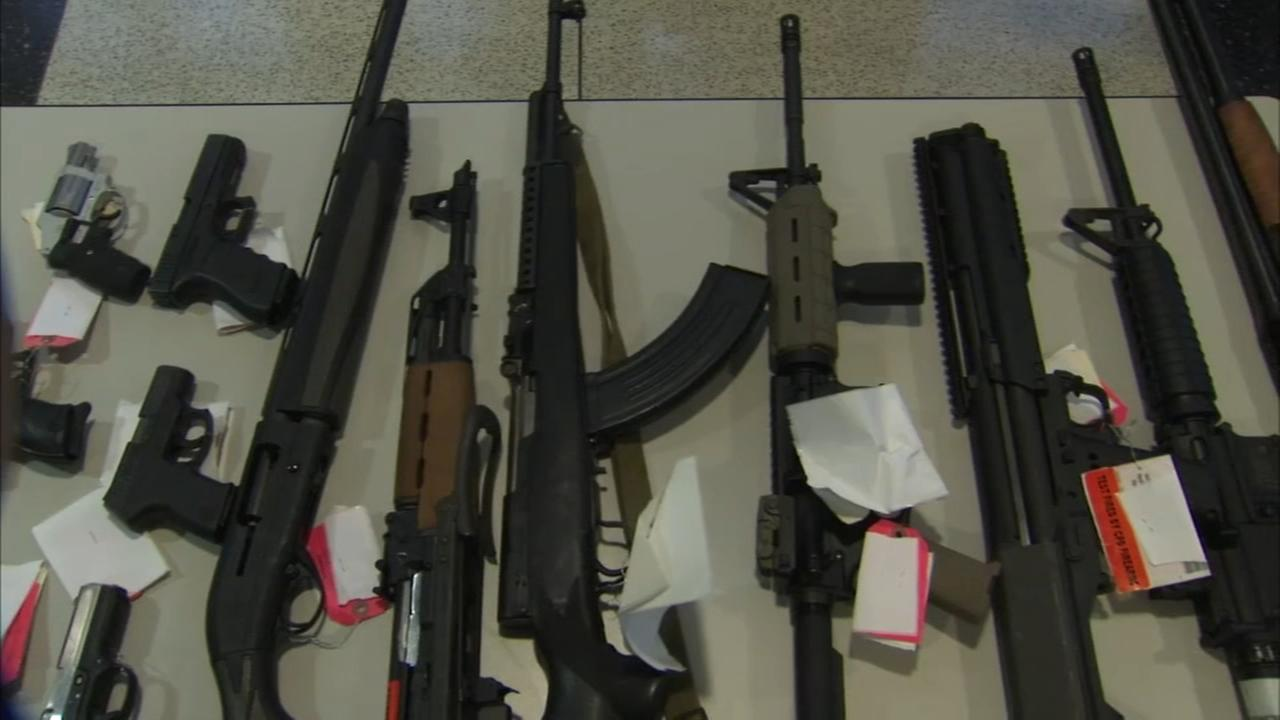 More than 5,100 guns seized by CPD so far in 2018